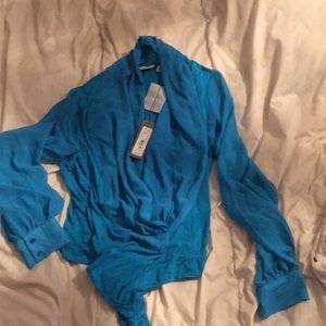 Turquoise Bodysuit